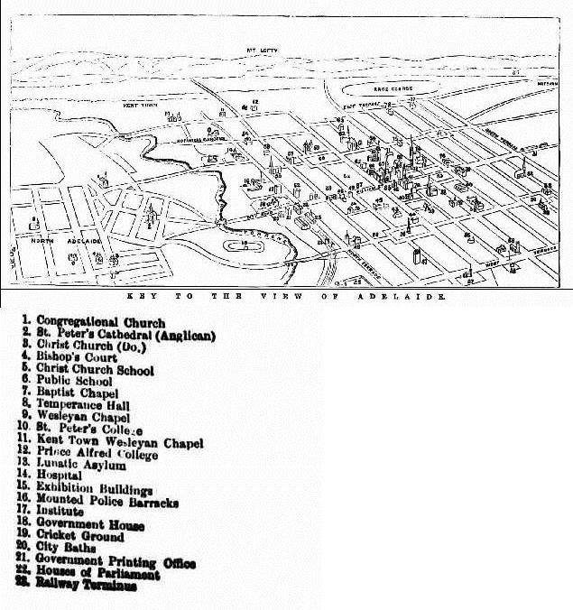 Adelaide 1876 Key