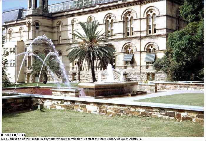 Lavington bonython fountain adelaidia for 333 south terrace adelaide