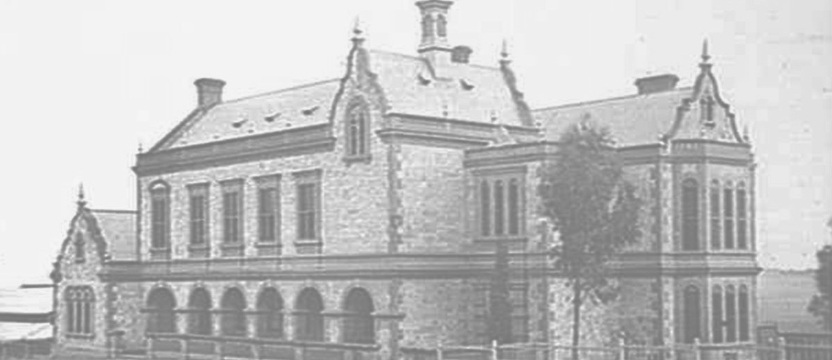 Parliament House and Legislative Council Building, c. 1865