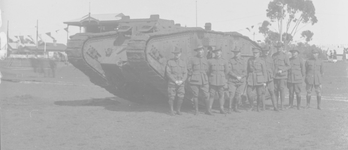 Image: World War One tank