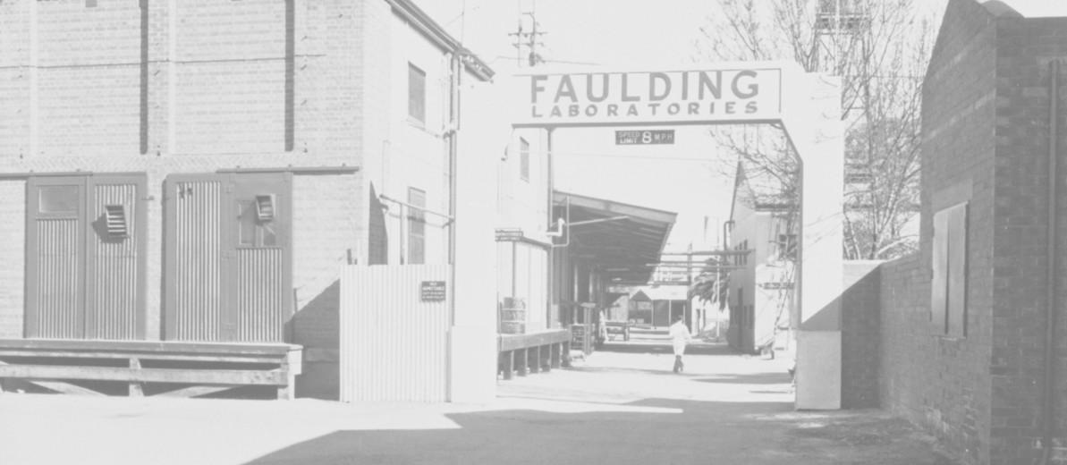 Image: Faulding Laboratories