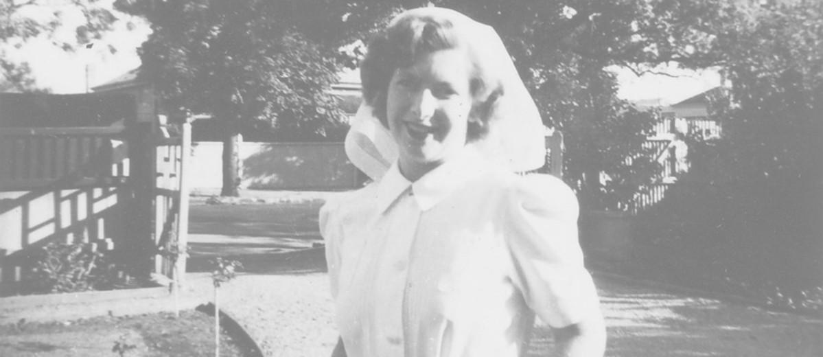 Image: woman in nurses uniform
