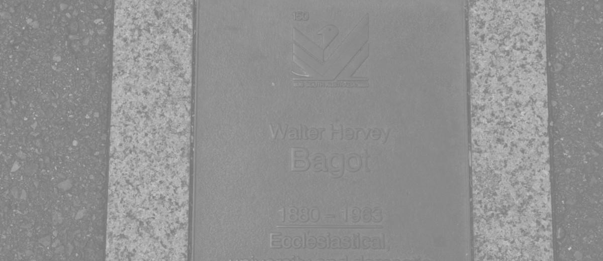 Image: Walter Hervey Bagot Plaque