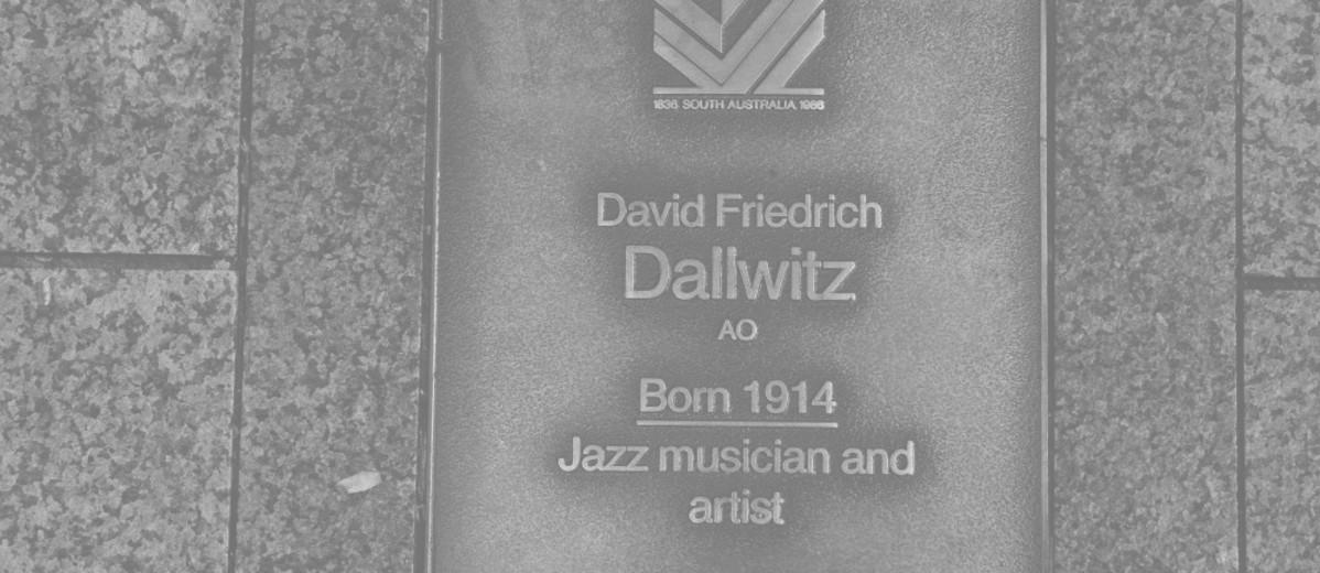 Image: David Friedrich Dallwitz Plaque