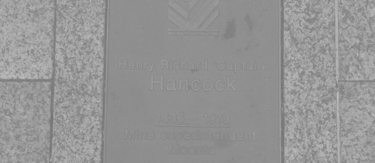 Image: Henry Richard Hancock Plaque