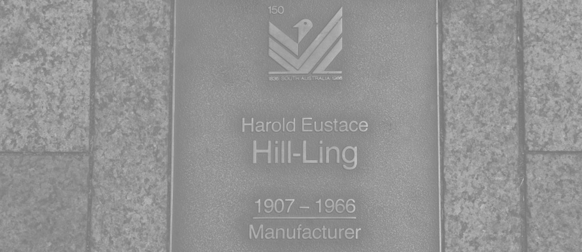Image: Harold Eustace Hill-Ling Plaque