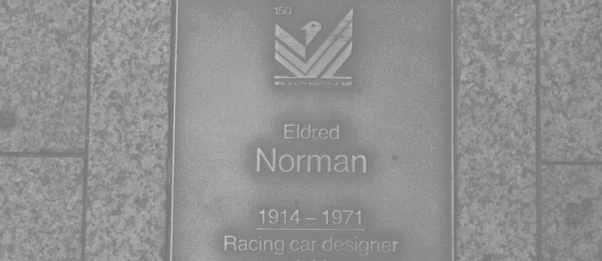 Image: Eldred Norman Plaque