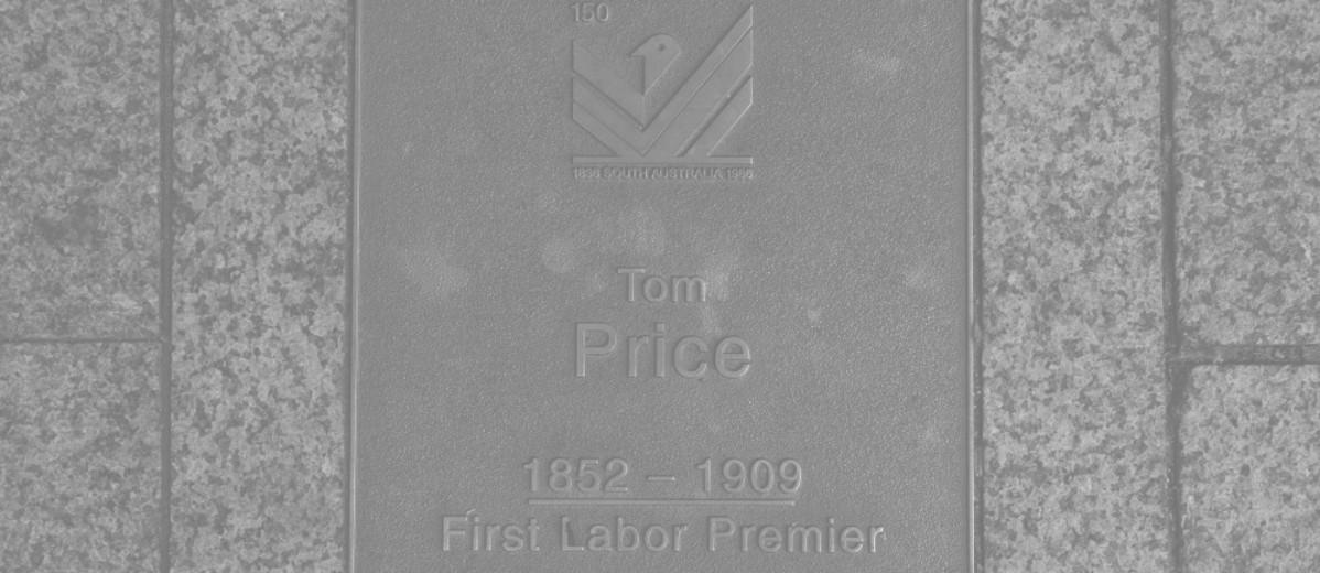 Image: Tom Price Plaque