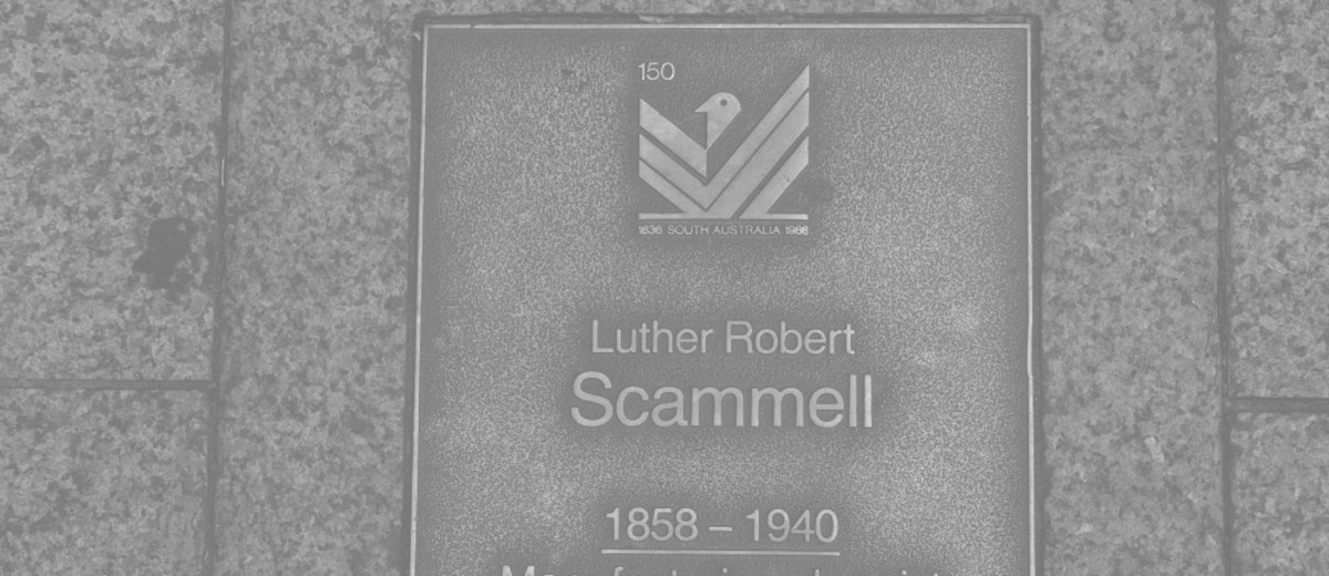 Image: Luther Robert Scammell Plaque