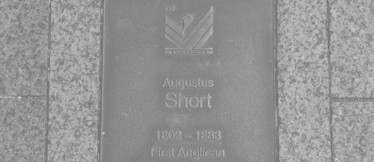 Image: Augustus Short Plaque