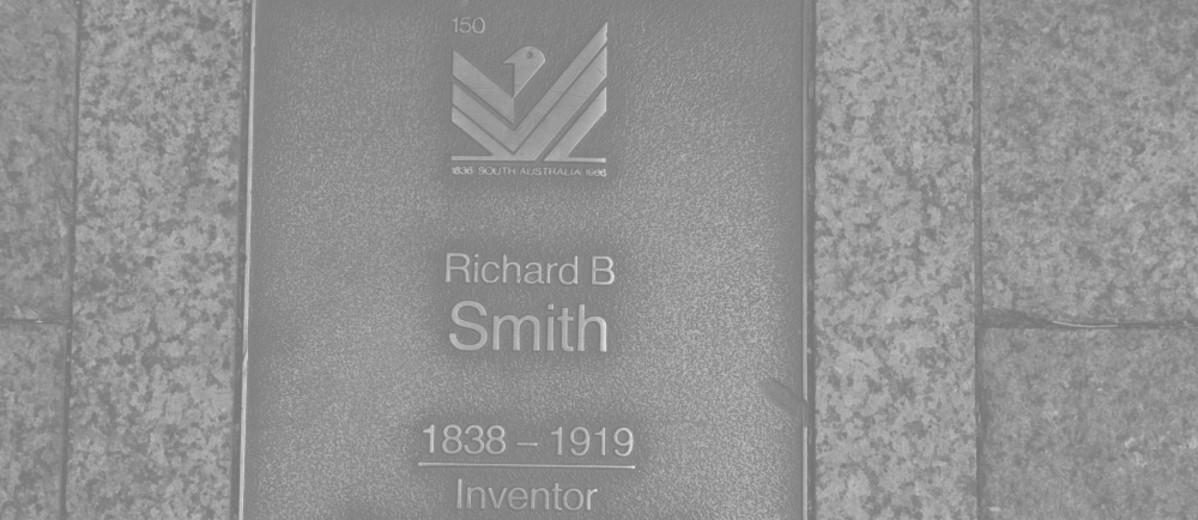Image: Richard B Smith Plaque