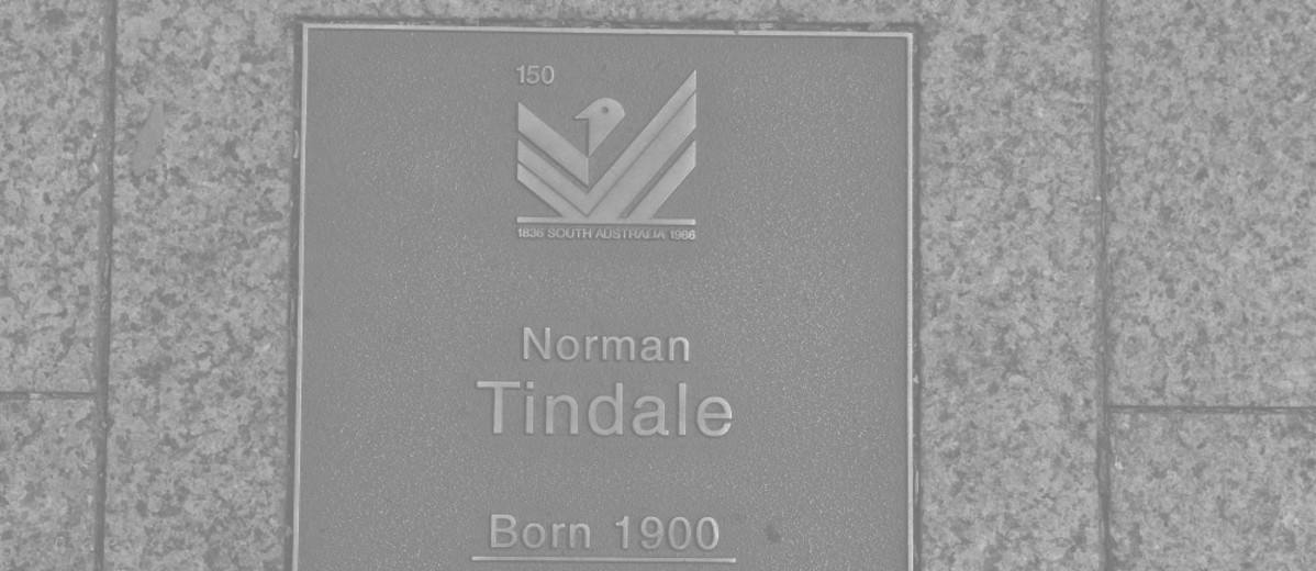 Image: Norman Tindale Plaque