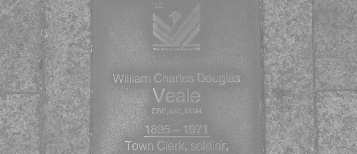 Image: William Charles Douglas Veale Plaque