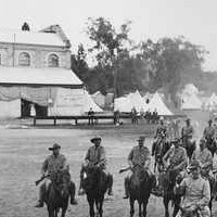 Bushmens Corps, on the old Exhibition grounds, 28th Feb 1900