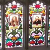 Image: Scientific stained glass windows
