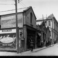 Image: 1920s street scene