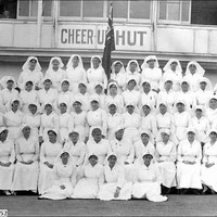 Image: Women in white uniforms