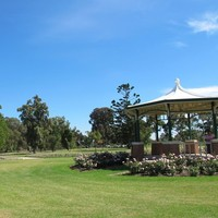 Image: Rotunda in park