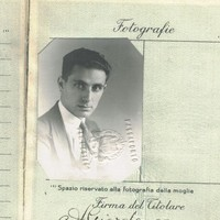 Image: open passport showing picture