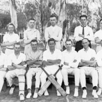 Image: Cricket team, c. 1910