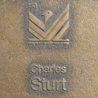 Jubilee 150 walkway plaque, Charles Sturt