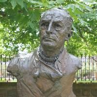 Bronze bust of Douglas Mawson by Adelaide sculptor John Dowie, 1981
