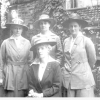Image: Four Women posing for photograph