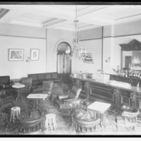 Image: view of room with bar and lounge chairs