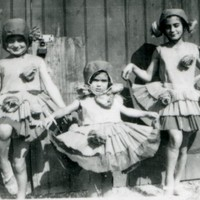 Image: Three girls in costume
