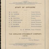 Image: Printed list of names
