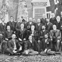 Image: Photograph of the committee members for the John McDouall Stuart Statue