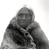 Portrait of Ivarityi in a wallaby skin cloak by Norman Tindale, 1928