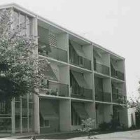 Block of flats on South Terrace, 1960