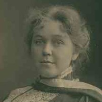 Dr Helen Mayo, a graduate, and former student of the Advanced School for Girls, c. 1900.