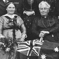 Woman's Christian Temperance Union members, c.1916