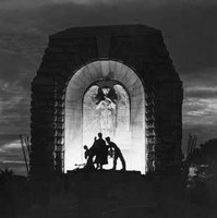 Image: Monument at night time