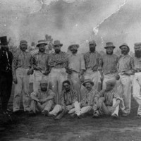 Image: Jolimonters cricket team at Adelaide