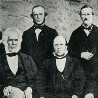 Group of pioneers, 1860