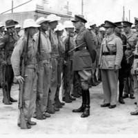 Image: Governor General Gowrie inspecting the second Australian Imperial Force, 1939