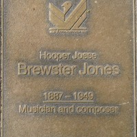 Jubilee 150 walkway plaque of Hooper Josse Brewster Jones