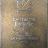 Jubilee 150 walkway plaque of David Dallwitz