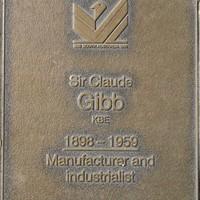 Jubilee 150 walkway plaque of Sir Claude Gibb