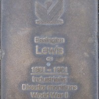 Jubilee 150 walkway plaque of Essington Lewis
