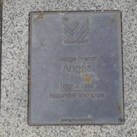 Image: George French Angas Plaque