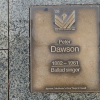 Image: Peter Dawson Plaque
