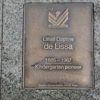 Image: Lillian Daphne de Lissa Plaque