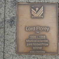 Image: Lord Florey Plaque