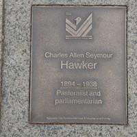 Image: Charles Allen Seymour Hawker Plaque
