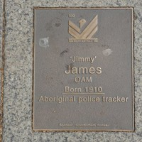 Image: Jimmy James Plaque