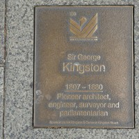 Image: Sir George Kingston Plaque